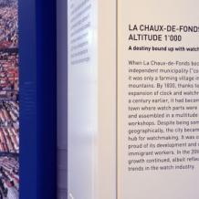 """""""La Chaux-de-Fonds en histoire(s) : exposition permanente"""""""